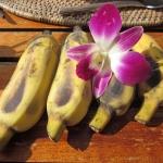 Himbeer Bananen Topfencreme - vegetarisch