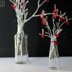 Valentinstags Herz Gesteck - DIY