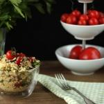 Bunter sommerlicher Hirse-Salat