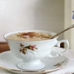 Grießpudding warm mit Schokolade - vegetarisch