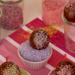 Kokos Cakepops aus