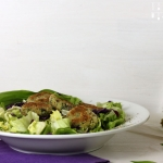 Bärlauch Quinoa Laibchen oder Patties - mit oder ohne Thermomix
