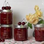 Kirsch Erdbeer Amaretto Marmelade