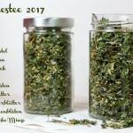 Kräutertee selbermachen - Jahrestee 2017