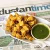 Kartoffel Pakoras mit Hari Chutney - Aloo Pakoras