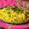 Südindischer Zitronen Reis - Lemon Rice