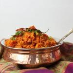Rote Rüben Reis Indisch - Rote Bete Pulao