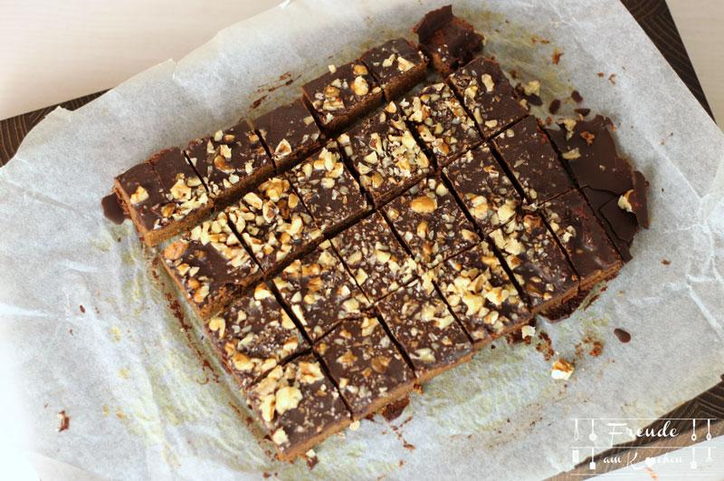 Süßkartoffel Brownies glutenfrei - vegan - zuckerfrei - Freude am Kochen