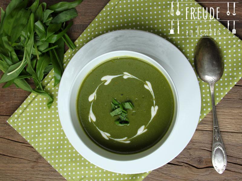 Bärlauch Suppe Austrian Style - Freude am Kochen