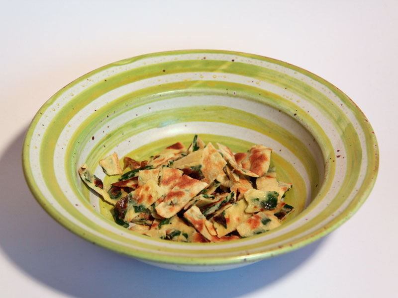 Bärlauch Frittaten Suppe - vegetarisch - Freude am Kochen
