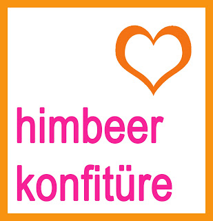 Himbeer Konfitüre - Free Printable Etiketten - Freude am Kochen vegan