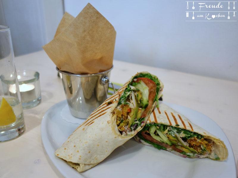 Veggie Burger - veganes Lokal Wien - Freude am Kochen
