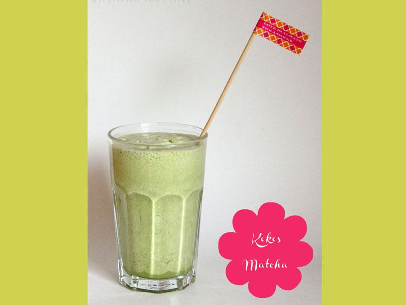 Kokos Matcha Shake - Freude am Kochen vegan