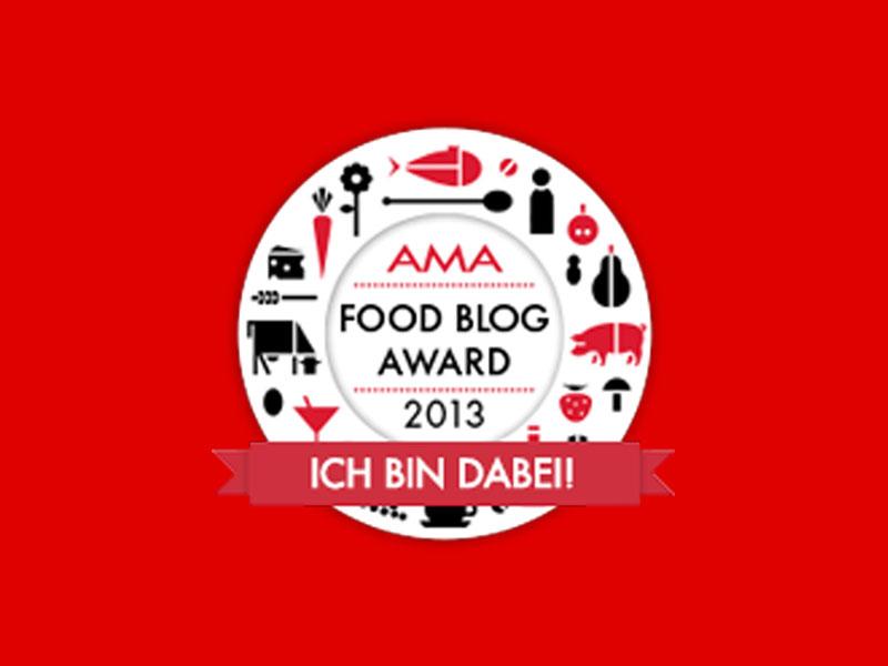 AMA Food Blog Award - die Teilnehmer sind online - Freude am Kochen vegan