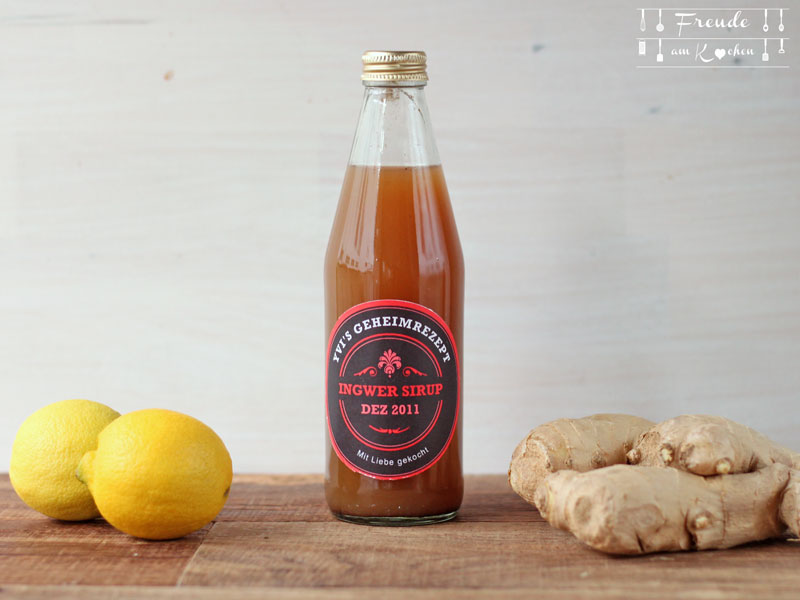 Yogi Tee - Chai-Sirup & Ingwer Zitronen Sirup - Freude am Kochen