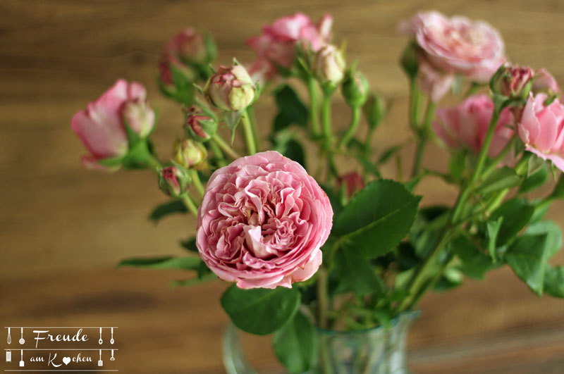 Rosen Blumen - Freude am Kochen