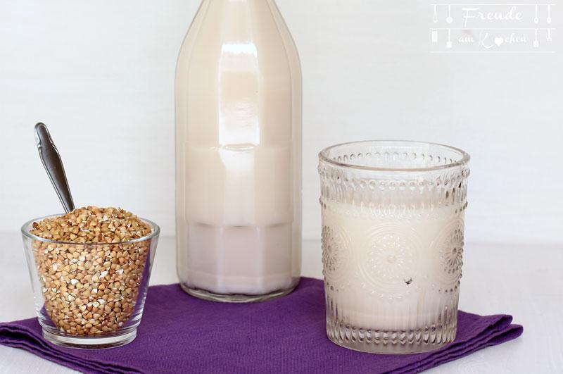 Buchweizen Milch, oder eigentlich Buchweizendrink selbermachen - Freude am Kochen