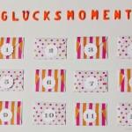 Glücksmomente Dankbarkeit Adventkalender DIY