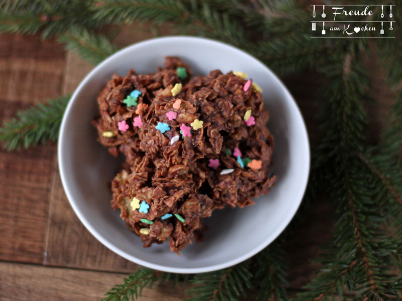 Schokolade Cornflakes Hauferl - Freude am Kochen