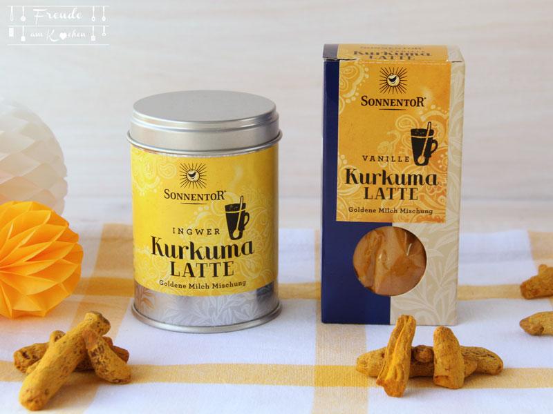 Goldene Milch - Kurkuma Latte von Sonnentor - Freude am Kochen