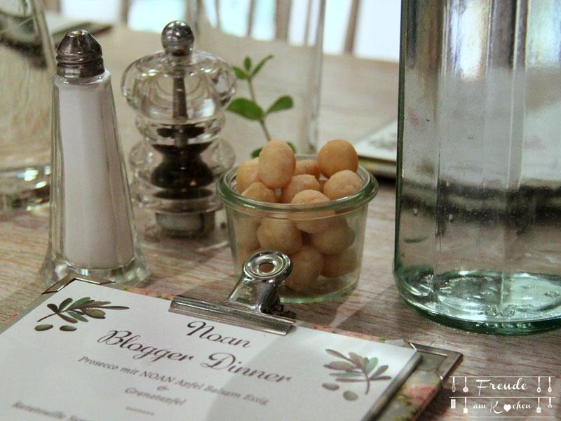 Noan Olivenöl - Blogger Dinner - Freude am Kochen