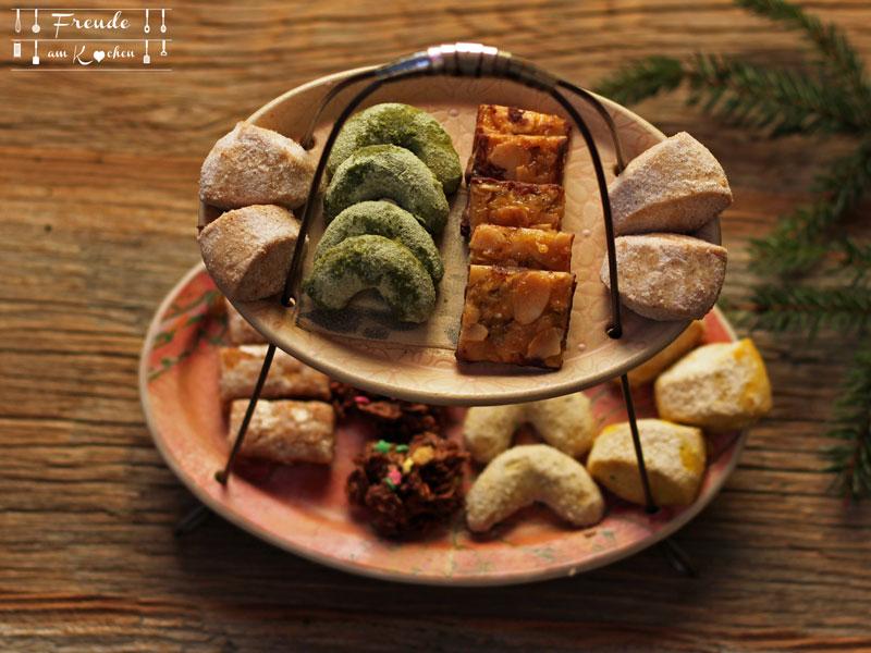 Weihnachtskekse 2015 vegan - Freude am Kochen