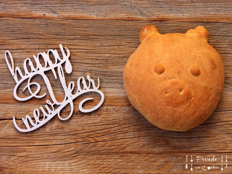 Glücksbringer Schweinderl selberbasteln - DIY - Freude am Kochen