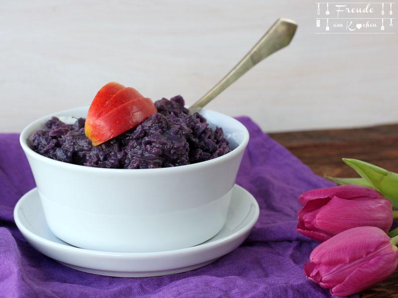 Blaukraut mit Apfel im Thermomix - Freude am Kochen