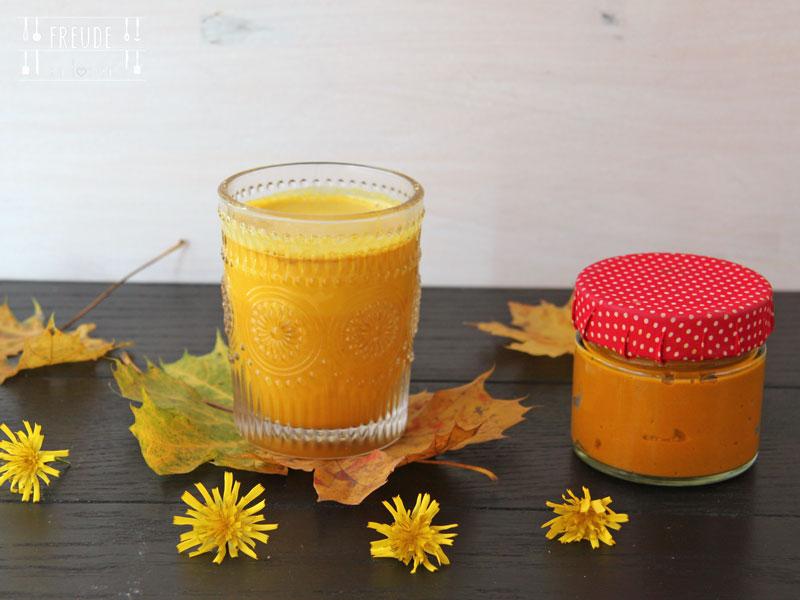 Golden Milk und Kurkuma Paste im Thermomix - Freude am Kochen