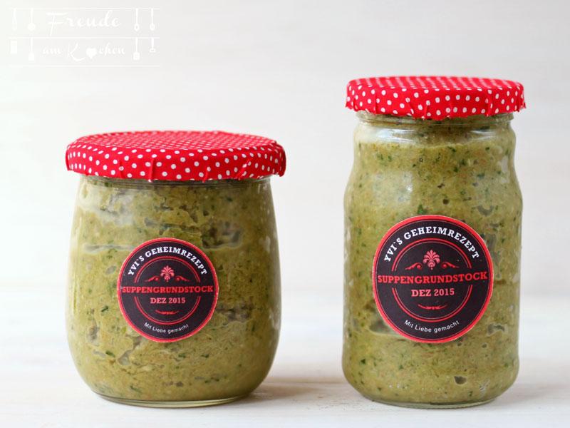 Gemüsebrühe mit Hefe selbermachen - Suppengrundstock - Freude am Kochen