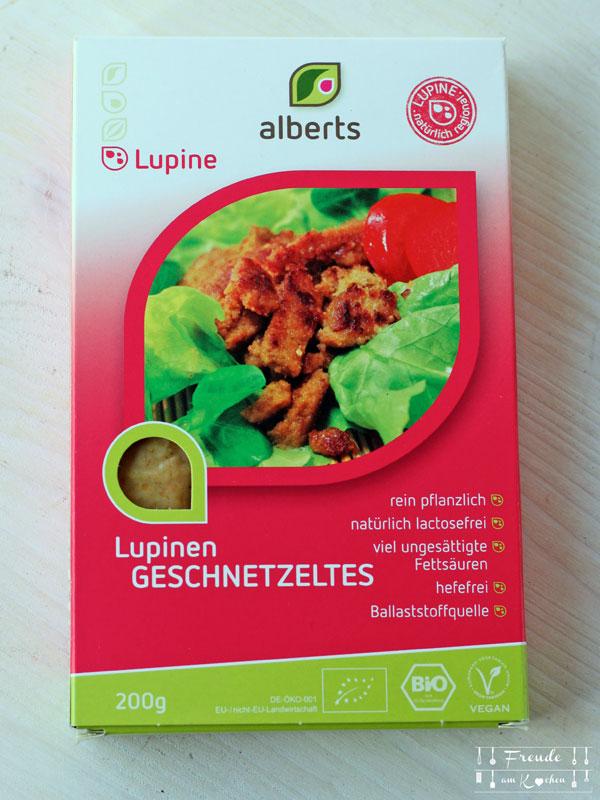 Lupinen Geschnetzeltes - Neu entdeckt - Vegan & Lecker - Freude am Kochen