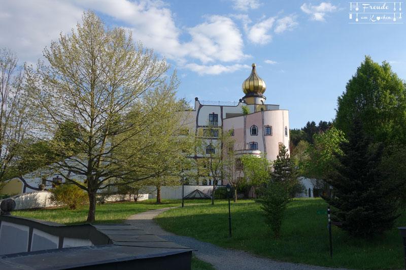 Reisebericht - Rogner Bad Blumau - Therme - Hundertwasser - Freude am Kochen