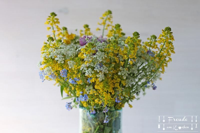 Wiesenblumenstrauss - Freude am Kochen