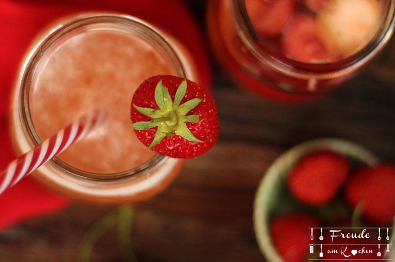 Erdbeer Switchel Rezept - Freude am Kochen
