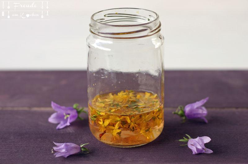 Johanniskrautöl Rotöl & Johanniskraut Tinktur selbermachen - Rezept - Freude am Kochen