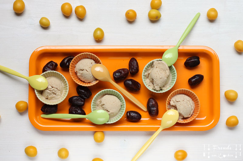 Dattel Eis Rezept vegan - Freude am Kochen