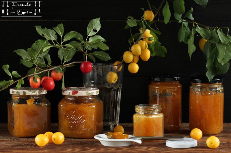 Kriecherl Mirabellen Rezepte - was kann man mit Kriecherl machen - Freude am Kochen