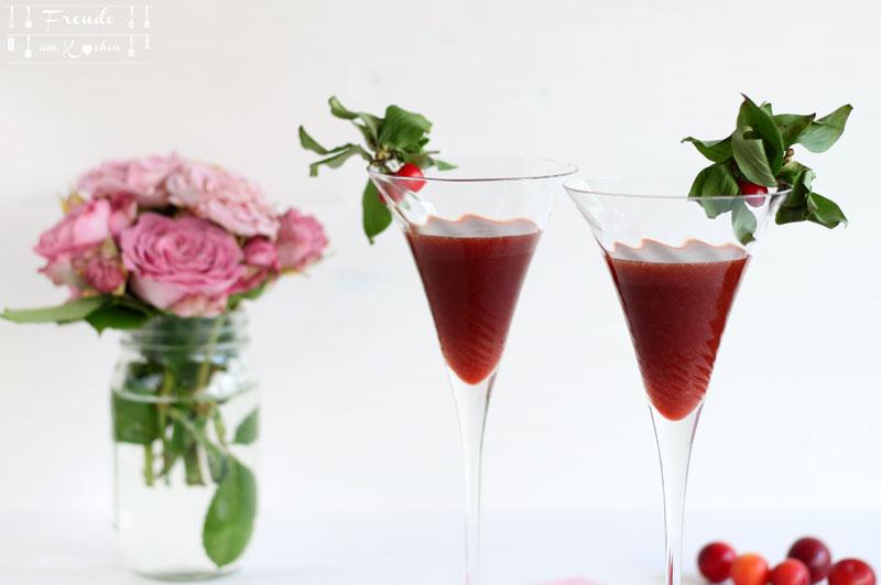 Kriecherl Mirabellen Limes - Rezept vegan - Freude am Kochen - Ringlotten - Reneclauden - Kirschpflaumen