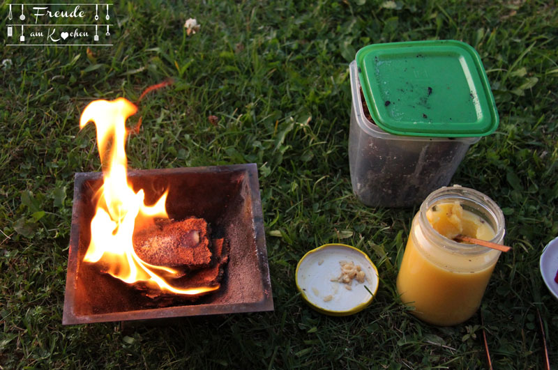Erntedankfest am Homahof im Waldviertel - Homa Gemüse - Agnihotra - Freude am Kochen