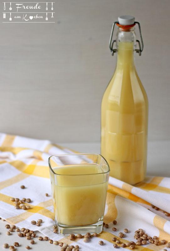 Lupinen Drink selbermachen - Freude am Kochen