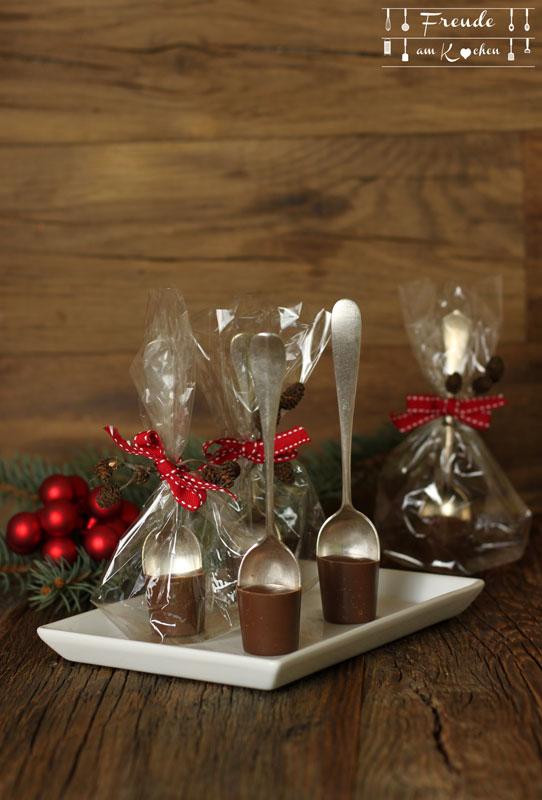Heiße Lebkuchen Schokolade am Stiel Freude am Kochen - Vegane Weihnachten - E-Book Weihnachts Rezepte