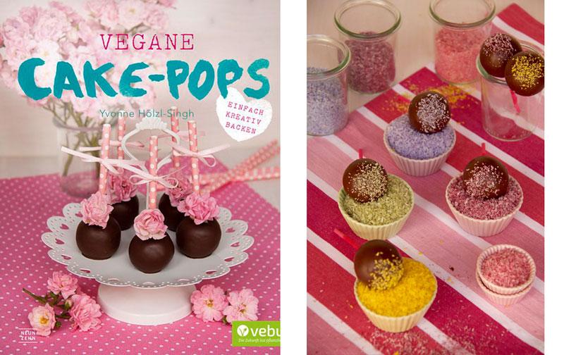 """Kokos Cakepops aus """"Vegane Cake-Pops"""" - Rezept vegan - Freude am Kochen"""