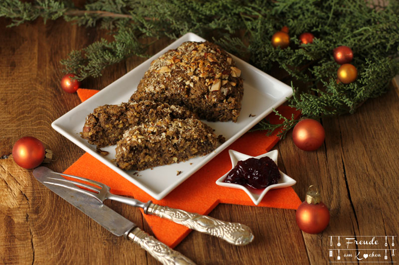 Braten Weihnachten.Linsen Hirse Braten Vegan Vegane Weihnachten Freude Am Kochen