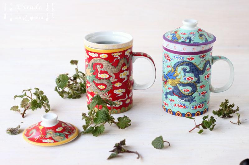 Brennessel Tee aus frischen Brennesseln - Entschlackend - Entgiftend - Freude am Kochen - Wildkräuter