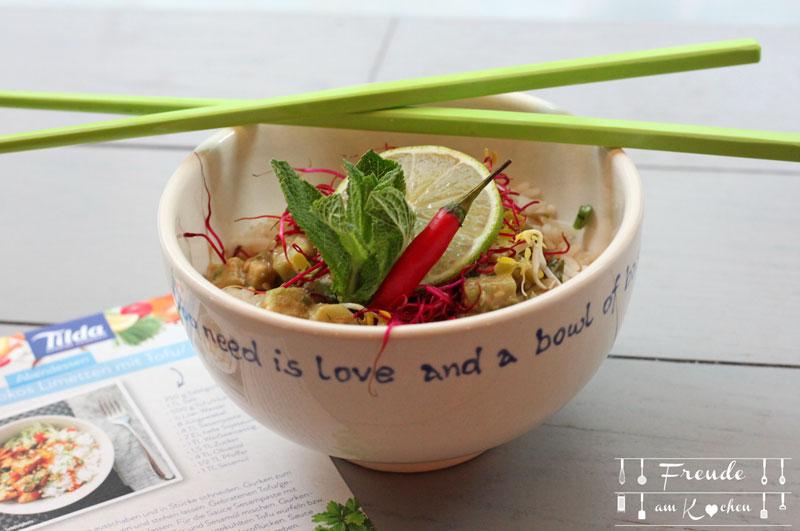 Rezepte mit Tilda Basmati Reis - Freude am Kochen - vegan