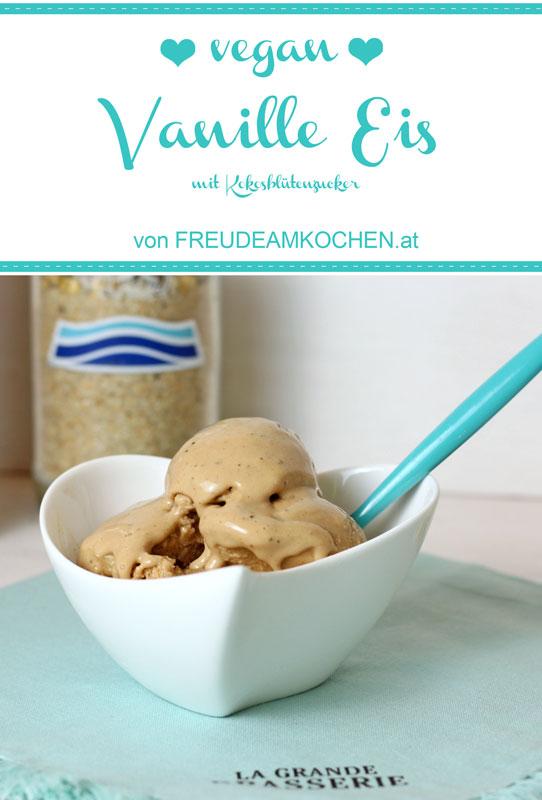 Vanille Eis ratzfatz vegan - Freude am Kochen