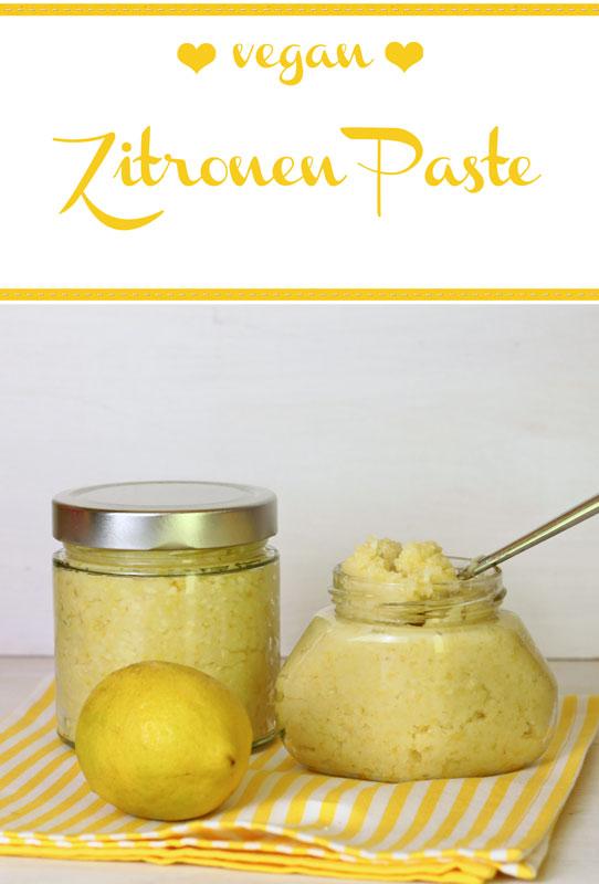 Zitronen Paste aus dem Thermomix - Freude am Kochen vegan