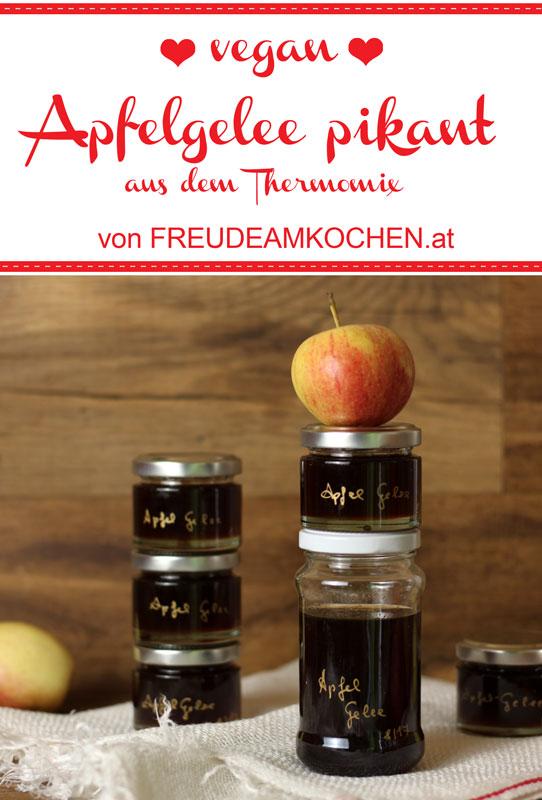 Pikantes Apfel Chili Gelee - Freude am Kochen vegan