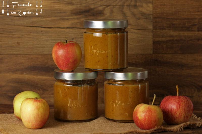 Kurkuma Apfelmus aus dem Thermomix - Freude am Kochen vegan