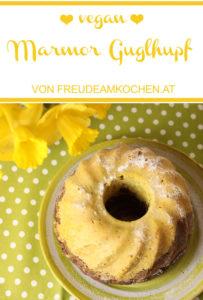 Tante Gretis Marmorguglhupf - Guglhupf vegan - Freude am Kochen